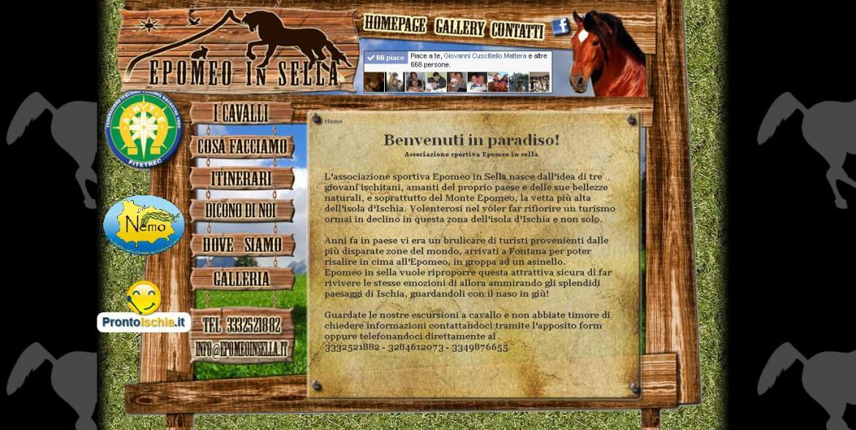 Sito web Epomeo in Sella