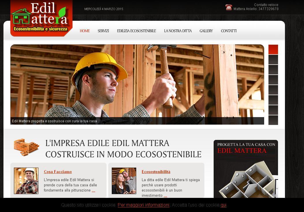 Sito web Edil Mattera